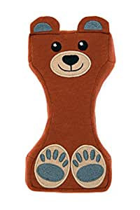 Fashion First Aid Titty Bear Dekolleté-/Brust-Auflage zum Schutz vor Falten, Baumwolle, Design Bär