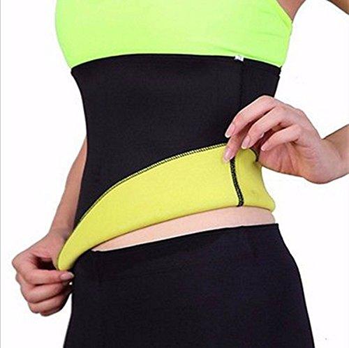 Perdere Peso Cintura LuckyFine Donne Piccante Neoprene Corpo Shaper Dimagrante Vita Sottile Cintura Yoga Top T Camicia