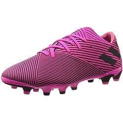 Adidas Nemeziz 19.2 MG, Botas de fútbol para Hombre, Multicolor (Rossho/Negbás/Rossho 000), 41 1/3 EU
