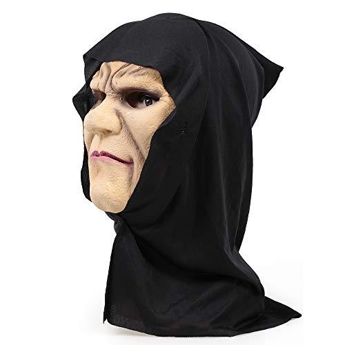 Für Fäulnis Erwachsene Kostüm - Goolsky Cosplay Halloween Maske Overhead Latex Fäulnis Gesicht Kostüm Scary Mask Trick Spiel Spielzeug