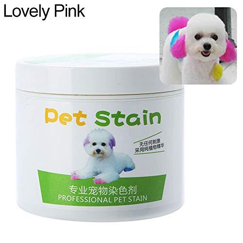 RIsxffp Agente colorante alérgico Anti de la Crema del Tinte del Perro...
