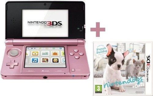 3DS ROSE CORAIL + NINTENDOGS + CATS BOULEDOGUE