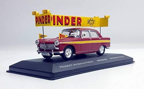 Odeon Peugeot 404 404 404 du Cirque PINDER ORTF 1/43 Série Limitée 500 Ex 18d3a7