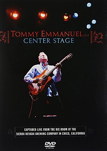 TOMMY EMMANUEL - CENTER STAGE (1 DVD)
