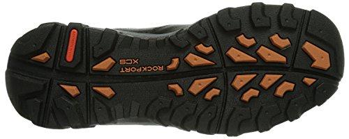 Rockport Csp Pt Boot - Stivali Uomo, , taglia Nero (Schwarz (BLACK LEA))