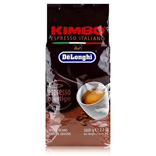 Delonghi Kimbo Espresso Prestige, 1kg geröstete Kaffeebohnen