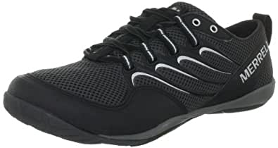 Merrell Trail Glove, Men's Lace-Up Running Shoes - Noir (Noir-Tr-H1-129), 8.5 UK