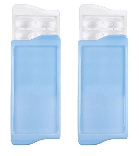 OXO Good Grips Couverts bac à glaçons (lot de 2) 2 Pack bleu Oxo Ice Cube Trays