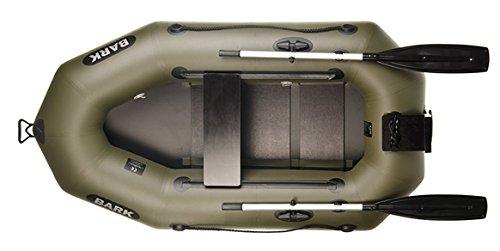 Bark B-210 Rudern Boot/Motorboot, 1-Person, Schlauchboot Paddelboot Einzelnes Boot, Vorzüglichkeit, Festigkeit. Professionelle Version. (B-210CN)
