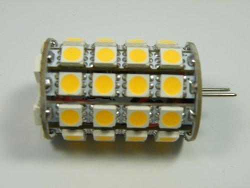 GY6,35 LED Leuchtmittel 49x3-Chip Zylinder warm weiß 533lm 5,3W=45W