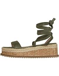 61e7247d1ee5 KingProst-Sandalen Wedges Sandalen Damen Sommer Schuhe Plateau  RöMersandalen Dicker…