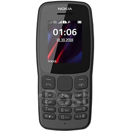 (Renewed) Nokia 106 (Grey, Dual SIM)