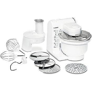 Bosch MUM4427 Küchenmaschine MUM4 (500 Watt, 3,9 Liter) weiß