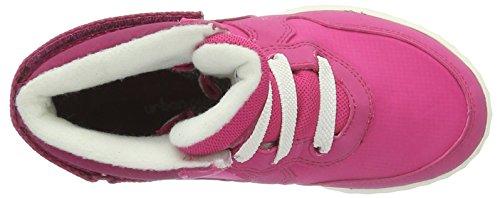 Viking Vigra, Baskets Basses Mixte Enfant Rose - Pink (Dark Pink/Fuchsia 3917)