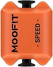 moofit Sensor Velocidad Bicicleta con Bluetooth & Ant+ Sensor Velocidad Rodillo Impermeable para Garmin Po