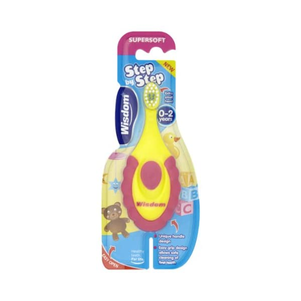 Wisdom Step By Step Super Soft Toothbrush For Children of 0-2 Year Old 1