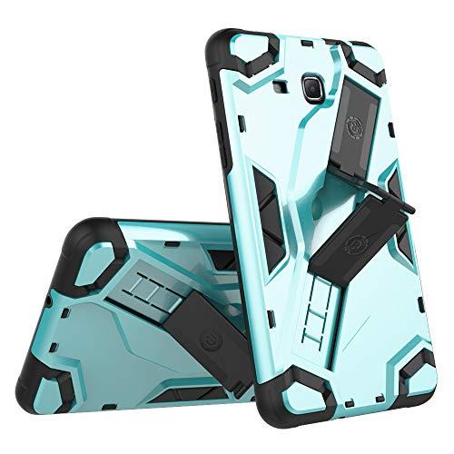 Für Handy-Schutzhüllen, Für Samsung Galaxy Tab A 7.0 Zoll 2016 SM-T280 / SM-T285-Hülle, Hybrid-Rüstung für hohe Beanspruchung, stoßsicherer Tablet-Fall mit faltbarem Ständer, Handschlaufe, Schutzhülle