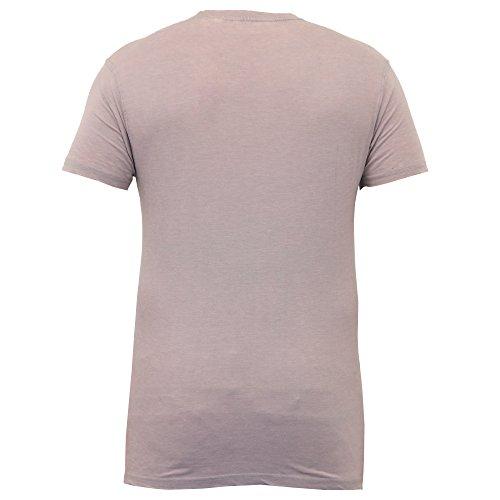 Herren Kurzärmelig Burnout Hawaii Blumenmuster Strand T-shirts Von Soul Star Grau - JAVOIRPKB
