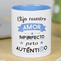 La Mente es Maravillosa - Taza con frase y dibujo romántico - Regalo original de amor