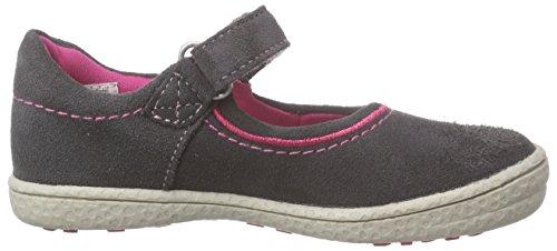Indigo Mädchen 426 008 Knöchelriemchen Grau (Grey 209)