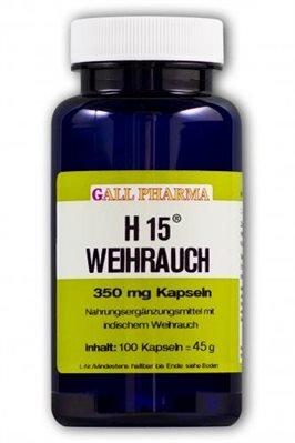 h15 weihrauch kapseln Gall Pharma Weihrauch H15 350mg Kapseln-750 Stück (750 ST)