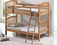 Artisan Bunk Bed, Wood, Oak, 3-Piece