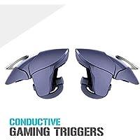 MODERN IN 2 in 1 PUBG Mobile Remote Controller Gamepad Holder Handle Joystick Triggers L1 R1 Shoot Aim Button(Black) (Multi 4)