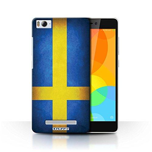 Stuff4® Hülle/Case für Xiaomi Mi 4i / Schweden/Schwedische Muster/Flagge Kollektion