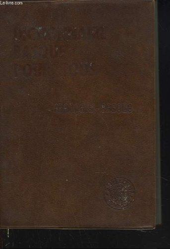 Dictionnaire basque pour tous. 2 francais-basque par COLLECTIF