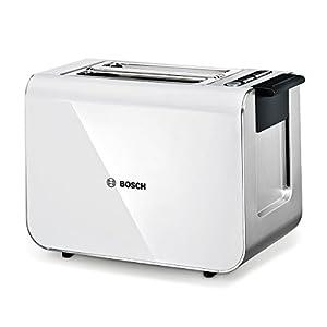 Bosch TAT8611 Kompakt Toaster Styline / Edelstahl u. Kunststoff / für 2 Scheiben Toast / 860 Watt