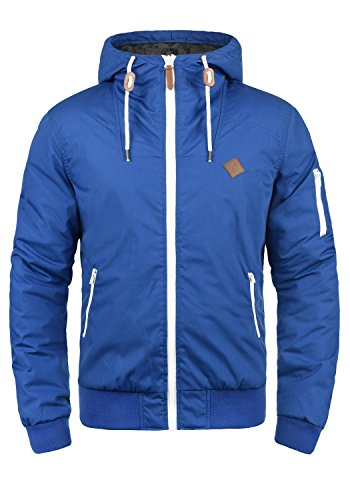 Dive Kapuzen-jacke (SOLID Tilly Herren Übergangsjacke Jacke mit Kapuze aus robustem und hochwertigen Material, Größe:XL, Farbe:Diva Blue (1618))