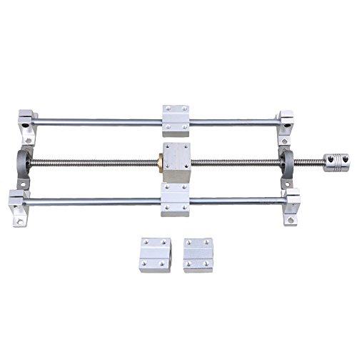 Horizontal Linear 200mm Optical Axis & T8 Lead Screw