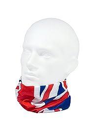UNION JACK - RUFFNEK® Multifunctional Headwear Neck warmer - One Size by RUFFNEK®