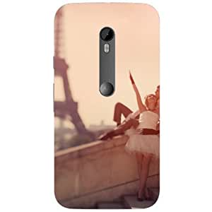 BetaDesign Paris Back Cover, Designer Cover for Motorola Moto G3 (Multicolor)