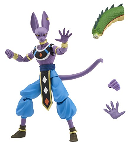 f86fe375dca19 Bandai Dragon Ball Super Dragon Stars Series Beerus Action Figure