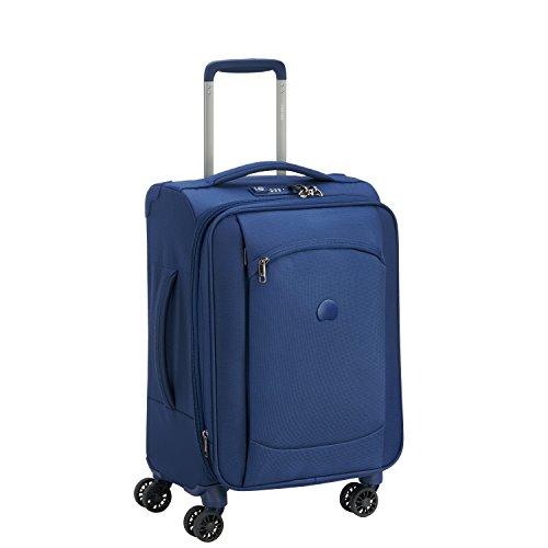 Delsey Paris Montmartre AIR Koffer, 55 cm, 42 L, Bleu Outremer