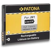 Batteria JM1 J-M1 per BlackBerry 3014   9380   9790   9850   9930 (Bold Touch)   Bold 9900   Torch 9860   Touch 9860(Monza)   Bold 9900   Bold 9790   Curve 9380   Storm 3   Torch 9850 e più… [ Li-ion; 1450mAh; 3.7V ]