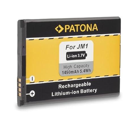 Batterie JM1 J-M1 pour BlackBerry 3014   9380   9790   9850   9930 (Bold Touch)   Bold 9900   Torch 9860   Touch 9860(Monza)   Bold 9900   Bold 9790   Curve 9380   Storm 3   Torch 9850 et bien plus encore… [ Li-ion; 1450mAh; 3.7V ]