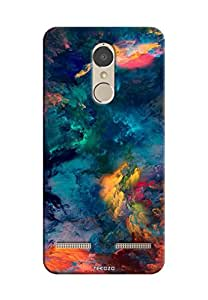 Tecozo Designer Printed Back Cover / Hard Case for Lenovo Vibe K6 Power (Colorful clouds Design/Colourful)