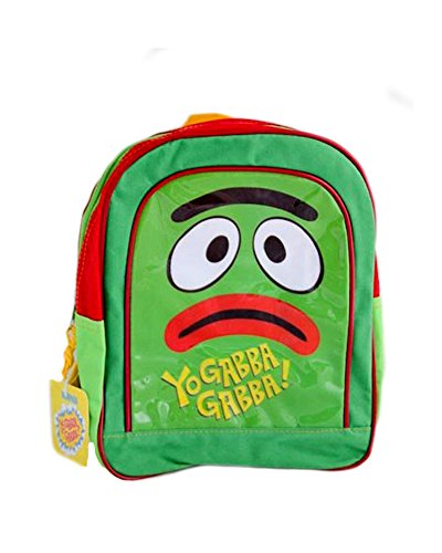 Petit Rucksack D Kindergarten Yo Gabba Gabba–Tasche Original Brobee für Kinder–H 26cm x L (Gabba Brobee Yo Gabba)