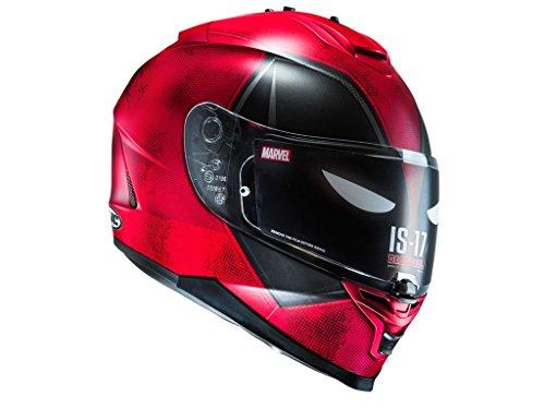 HJC - Motorradhelm - HJC IS-17 Deadpool MC1SF - (Outfits Deadpool)
