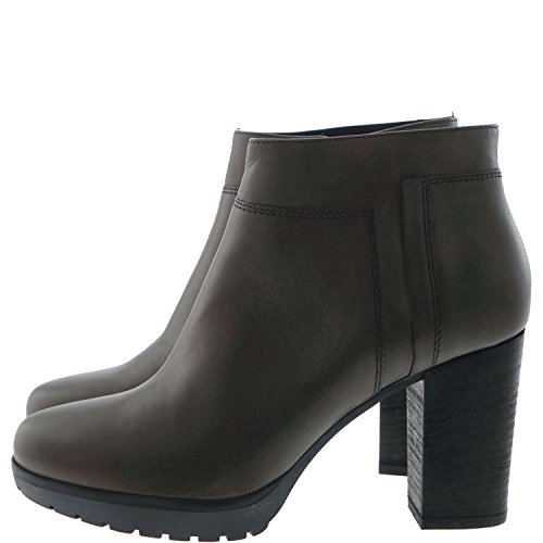 Janet Esporte, Botas E Ankle Boots Bege Tortora