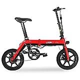 BYYLH Bicicleta Electrica Plegable Adulto Litio 36V Ruedas Doble Freno Disco E-Bike