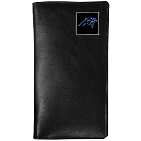 NFL Carolina Panthers Tall Leather Wallet