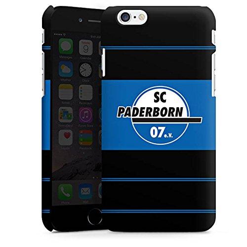 Apple iPhone X Silikon Hülle Case Schutzhülle SC Paderborn Fanartikel Fussball Premium Case matt