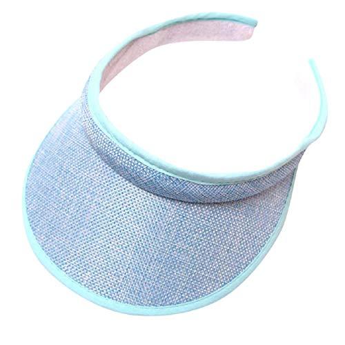 Barlingrock Unisex Sports Sonnenblende Fashion Baseball Cap Leer Top Hat Sonnenhut Blue Floral Sun-kleid