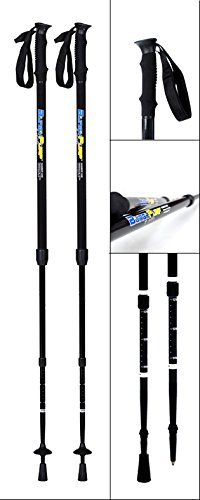 BungyPump Number One - Fitness Walking Poles with 8.8 lbs of Built-in Resistance, Easy Weight Loss while Walking, Used in The Biggest Loser by Sports Progress International AB