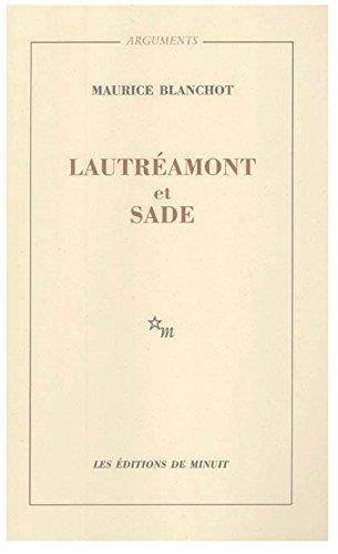 Lautréamont et Sade
