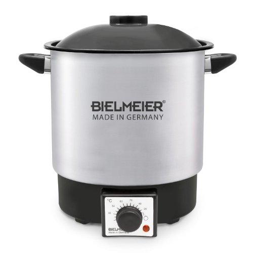Bielmeier 990023 Einkoch-Halbautomat 9 Liter / Edelstahl / ohne Auslaufhahn / 1000 W
