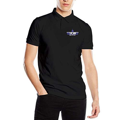 Top Dad Herren Classic Polo-Shirt Schnelltrocknendes Golf-Polo-Shirt, M -